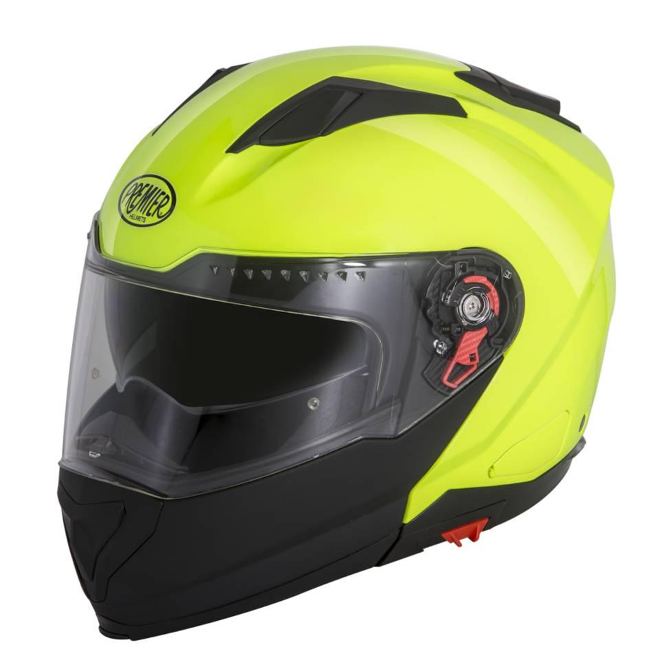 6fd5a4089e48 Premier Delta FLUO felnyitható bukósisak napszemüveggel (UV sárga) - PowerBike  motorosbolt és szerviz webshopja