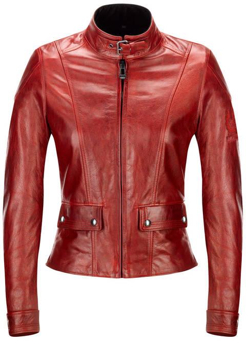 Webshop   Belstaff motoros ruházat   Belstaff Fordwater női motoros  bőrdzseki (Antique vörös) 8c9bbbe34b