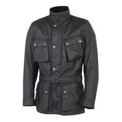 8c8c31fabfc7 Webshop / Belstaff motoros ruházat / Belstaff Classic Tourist Trophy fekete motoros  kabát